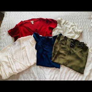 Tops - Short Sleeve Blouse Bundle